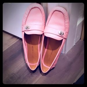 Womens Size 11! Antonio Melani pink/coral loafers